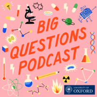 Podcast cover art for Oxford Sparks Big Questions