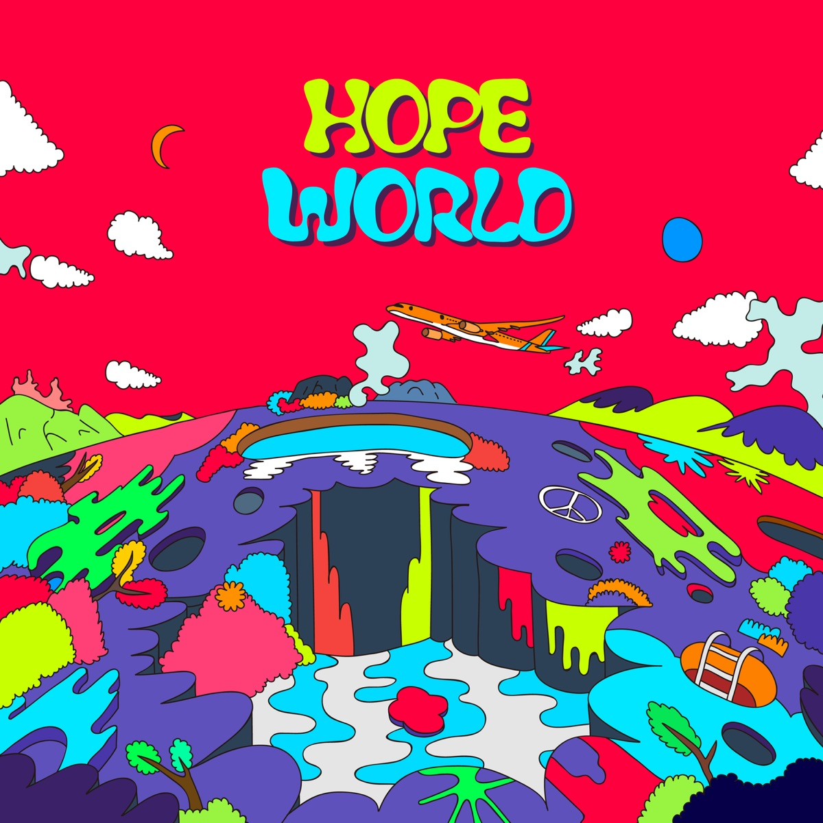 Hope World j-hope CD cover