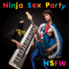 Dinosaur Laser Fight - Ninja Sex Party