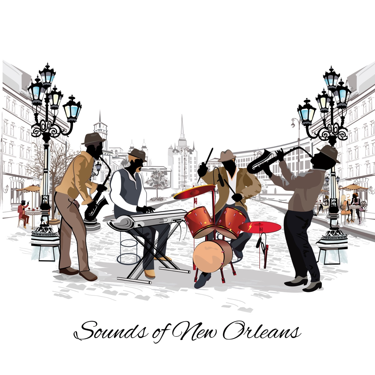 Sounds of New Orleans: Top 100, Best Instrumental Dixieland