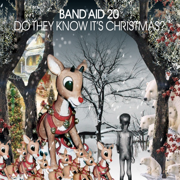 Band Aid mit Do They Know It's Christmas?