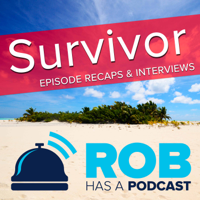 Podcast cover art for Survivor: Ghost Island from Rob has a Podcast | RHAP