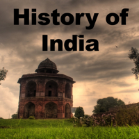 Podcast cover art for The History of India Podcast