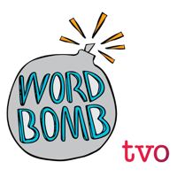Podcast cover art for Word Bomb