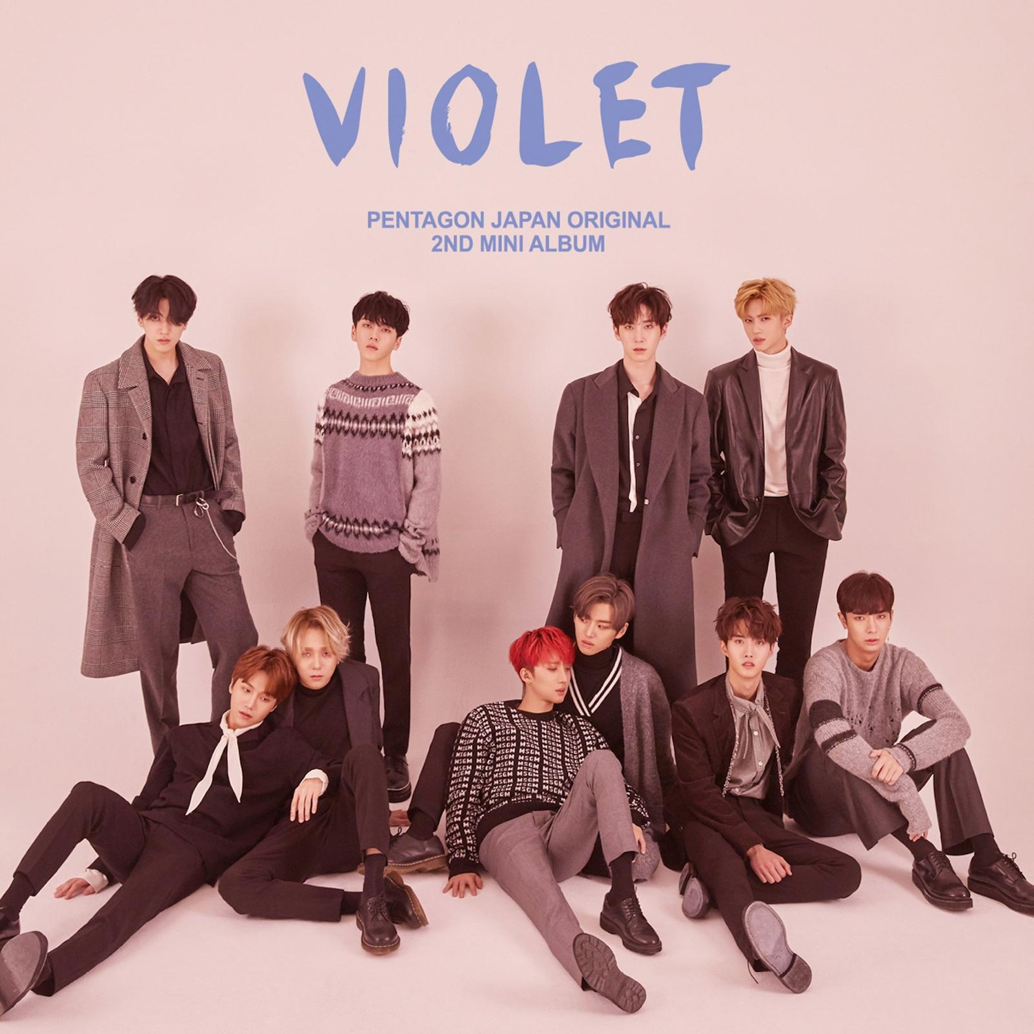 PENTAGON – PENTAGON JAPAN ORIGINAL 2ND MINI ALBUM 'VIOLET' – EP