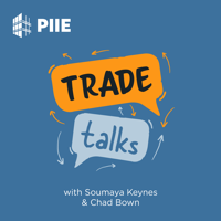 Podcast cover art for Trade Talks | PIIE