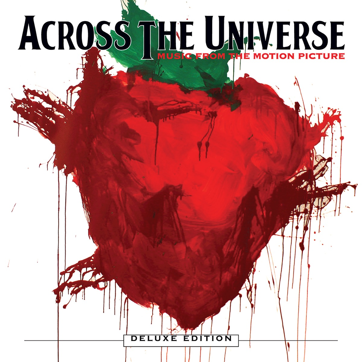 Across the Universe Music from the Motion Picture Deluxe Edition Various Artists CD cover