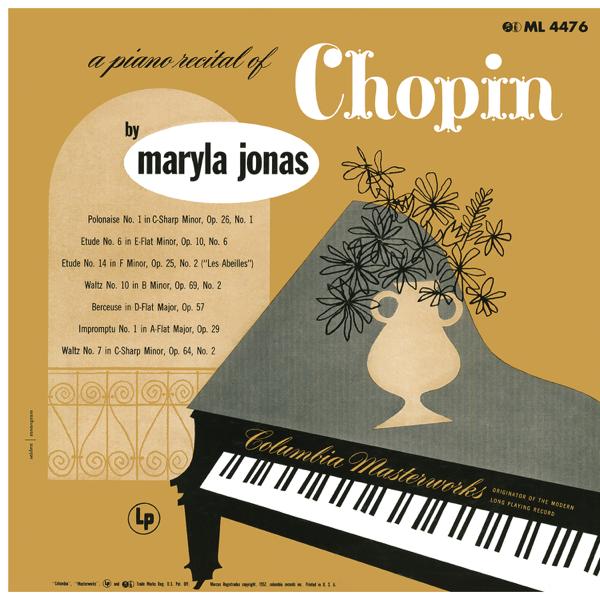 Maryla Jonas: A Piano Recital of Chopin by Maryla Jonas
