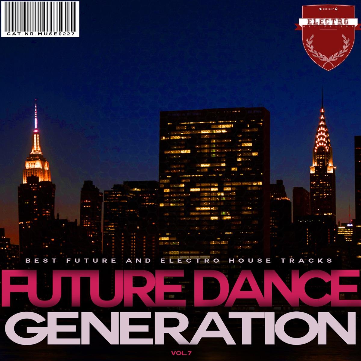 Future Dance Generation Vol 7 Various Artists CD cover