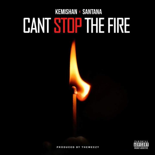 Can't Stop the Fire (feat. Santana) - Single