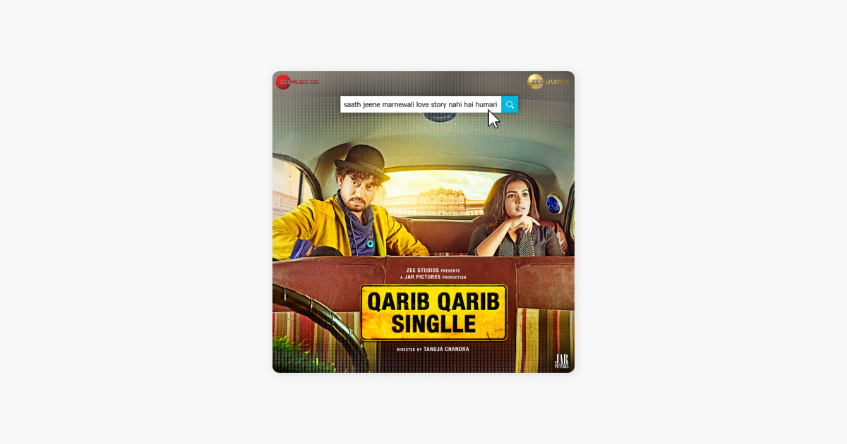 ‎Qarib Qarib Singlle (Original Motion Picture Soundtrack) by Vishal Mishra,  Rochak Kohli & Ali Merchant