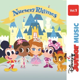 Disney Junior Music Nursery Rhymes Vol 1 Rob Cantor
