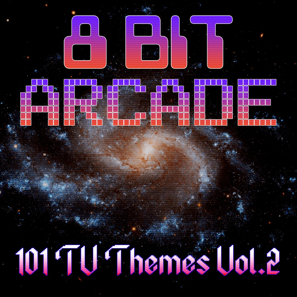 101 Television Themes Vol 2 8-Bit Arcade CD cover