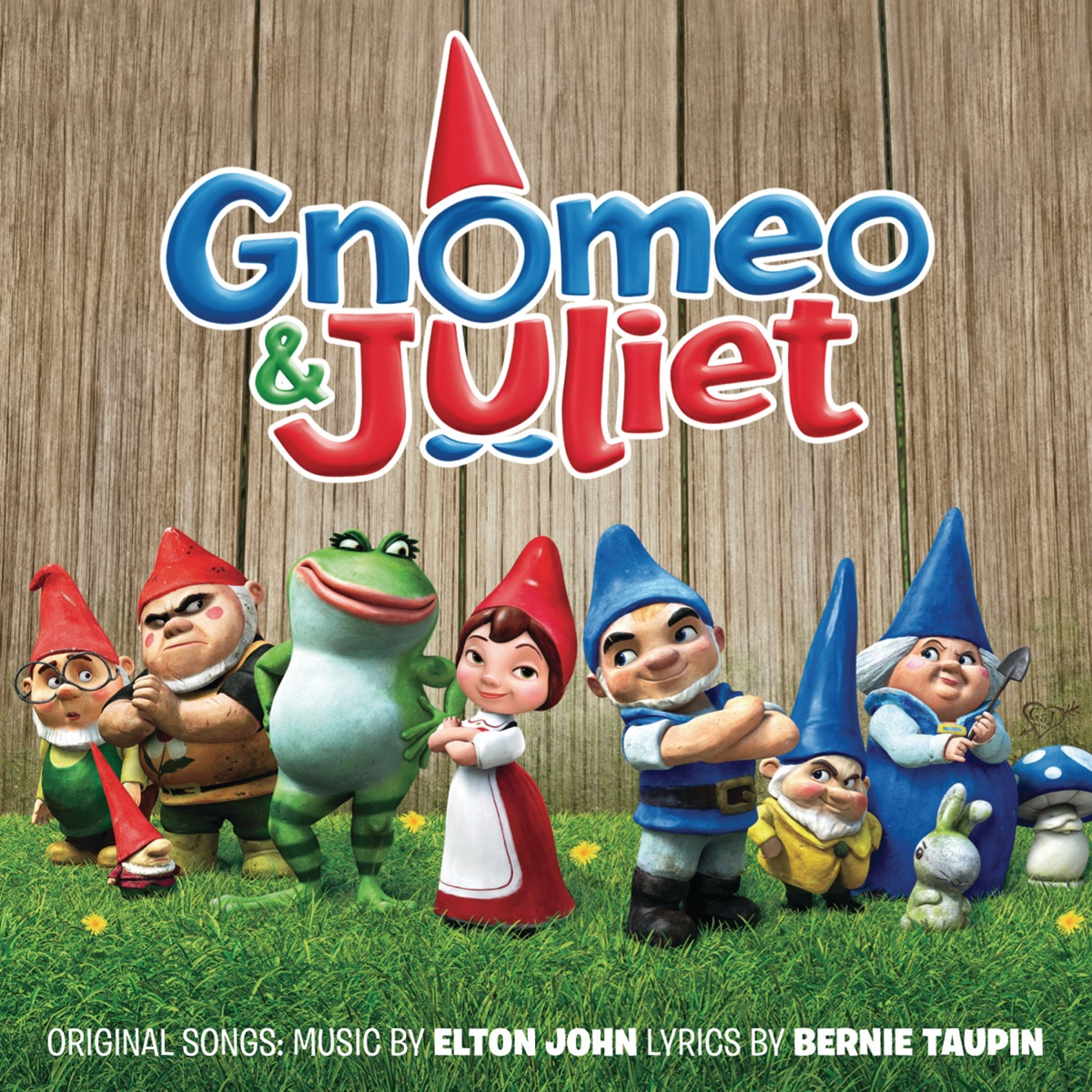 Gnomeo and Juliet Soundtrack from the Motion Picture Various Artists CD cover