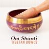 Buddhist Meditation Music Set & Deep Buddhist Meditation Music Set - Om Shanti Tibetan Bowls: Vibrational Benefits, Cosmic Peace, Buddhist Ceremony, Divine Meditation, Pranic Purifying artwork