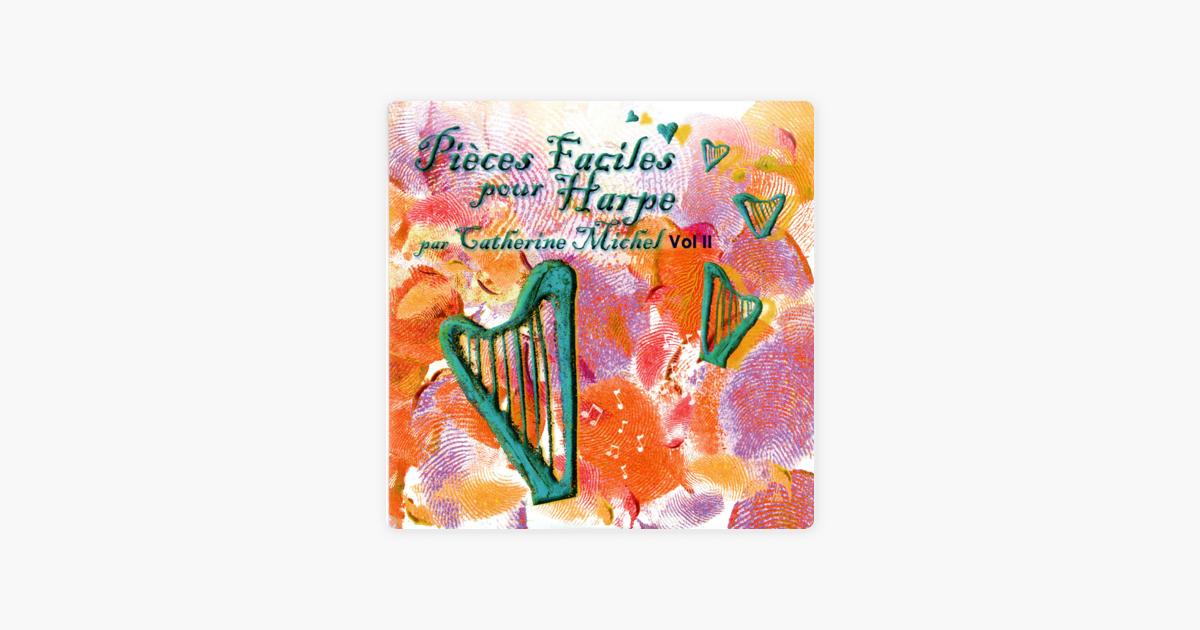 カトリーヌ ミシェルの pièces faciles pour harpe vol 2 をapple