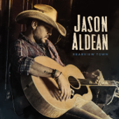 Jason Aldean - Rearview Town  artwork
