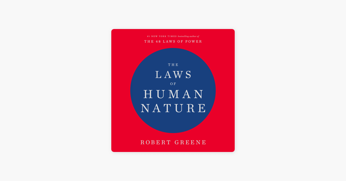 The Laws of Human Nature (Unabridged) - Robert Greene