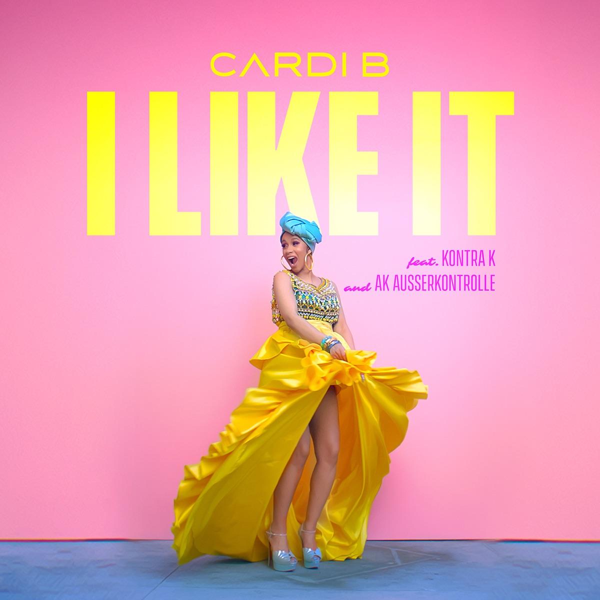 I Like It Album Cover By Cardi B