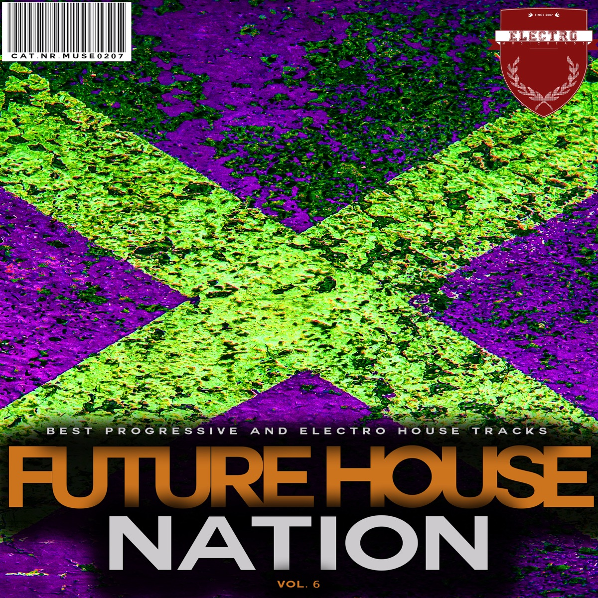 Future House Nation Vol 6 Various Artists CD cover