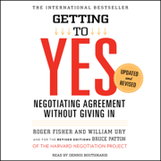 Getting to Yes (Unabridged)