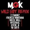 Wild Boy (Remix) [feat. 2 Chainz, French Montana, Meek Mill, Mystikal, Steve-O & Yo Gotti] - Single, Machine Gun Kelly