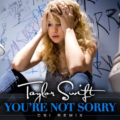 You're Not Sorry (CSI Remix) - Single - Taylor Swift