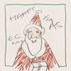 Eric Clapton - Happy Xmas Grafik