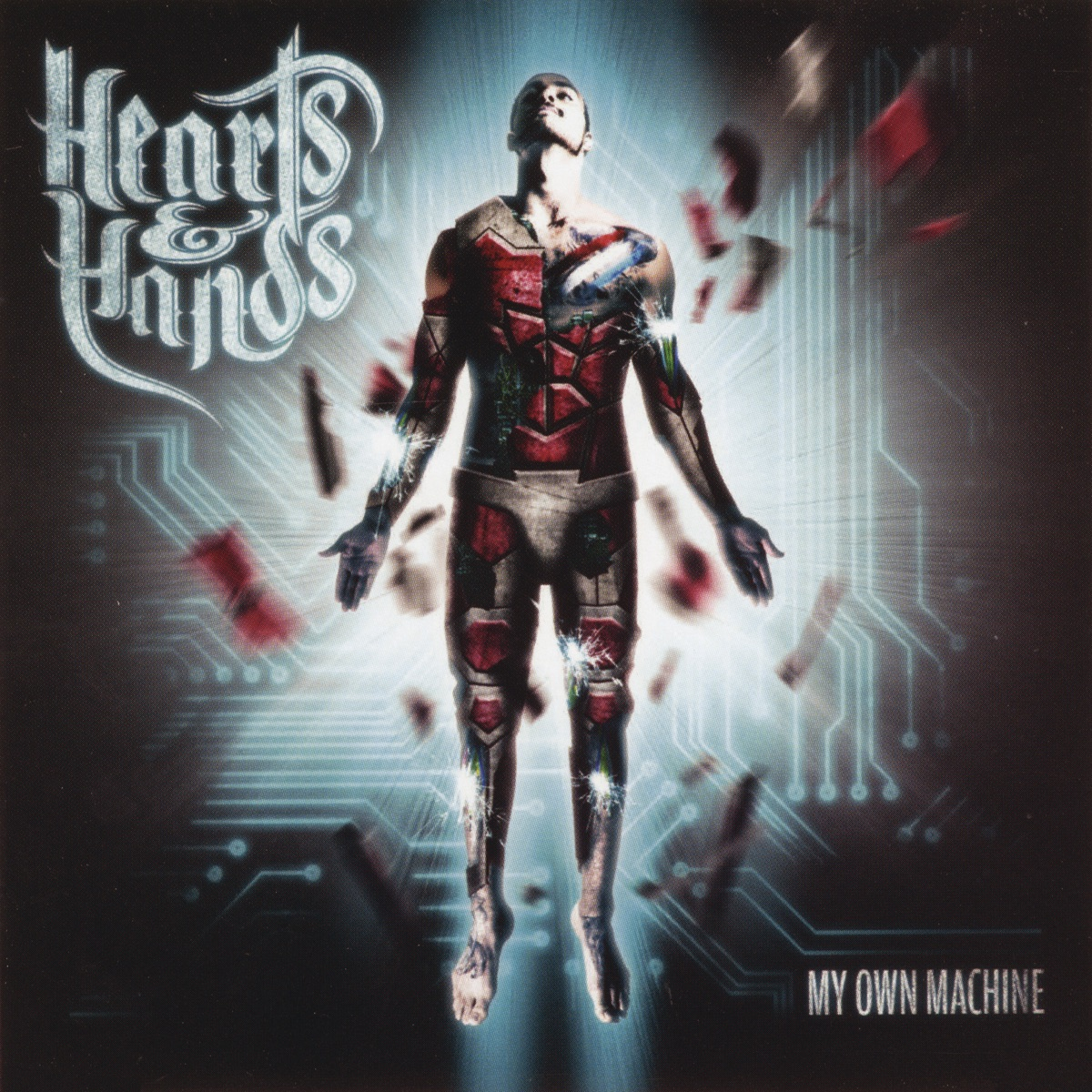My Own Machine Hearts  Hands CD cover