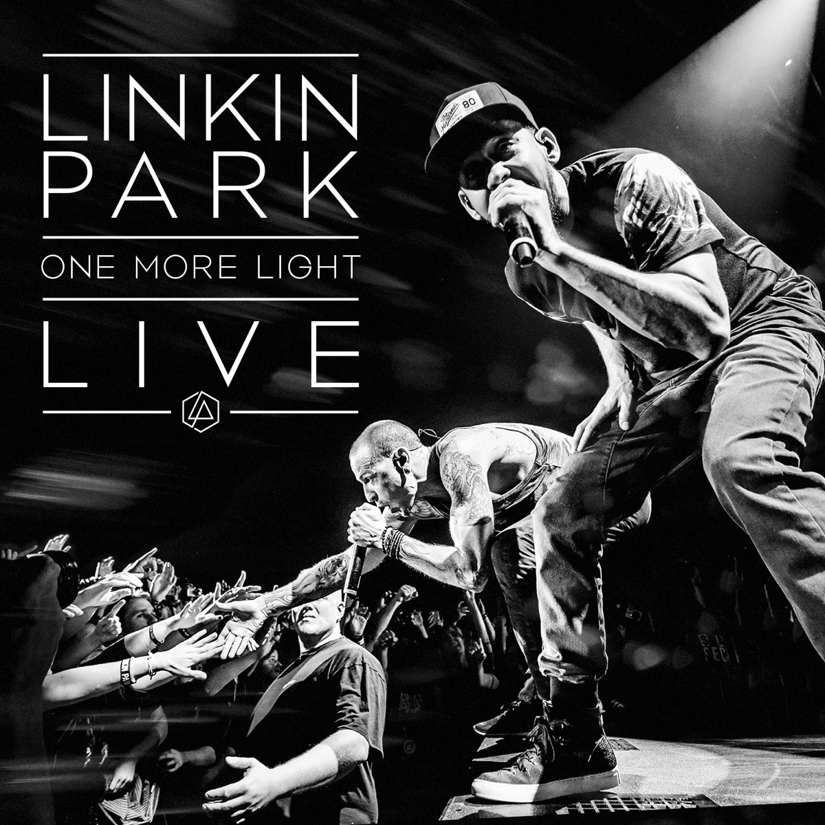 One More Light Live LINKIN PARK CD cover