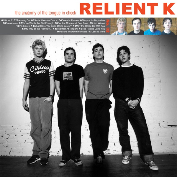 The Anatomy Of The Tongue In Cheek Gold Edition By Relient K On