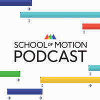 Podcast cover art for School of Motion Podcast