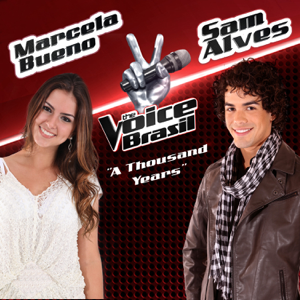 Marcela Bueno & Sam Alves - A Thousand Years (The Voice Brasil)