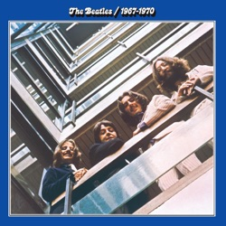 View album The Beatles 1967-1970 (The Blue Album)