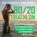 Matt Fitzgerald & David Warden - 80/20 Triathlon: Discover the Breakthrough Elite-Training Formula for Ultimate Fitness and Performance at All Levels (Unabridged)
