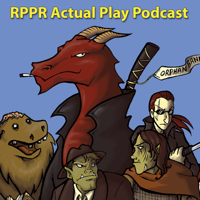 Podcast cover art for RPPR Actual Play