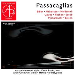 Passacaglias (World Premiere Recording)