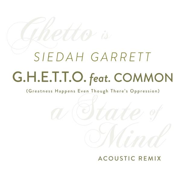 G.H.E.T.T.O. (feat. Common) [Michael