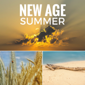New Age Summer - Best Relaxing Instrumental Music for Yoga and Meditation, Soothing Background Songs and Ocean Waves Sounds for Reiki and Vibrational Healing