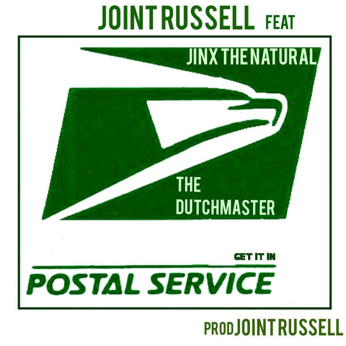 Postal Service feat Jinx the Natural - Single The Dutchmaster CD cover