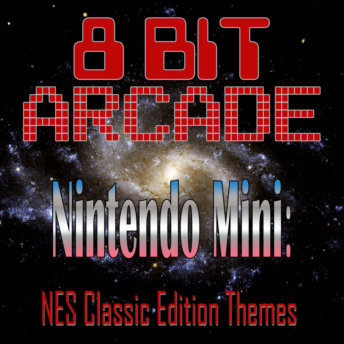 Nintendo Mini NES Classic Edition Themes 8-Bit Arcade CD cover