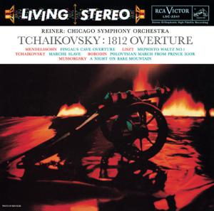 Fritz Reiner & Chicago Symphony Orchestra - Tchaikovsky: Overture solennelle, 1812, Op. 49 - Marche slave, Op. 32