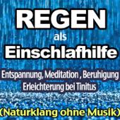 Regen als Einschlafhilfe, Entspannung, Meditation, Beruhigung und Erleichterung bei Tinitus (Naturklang ohne Musik)