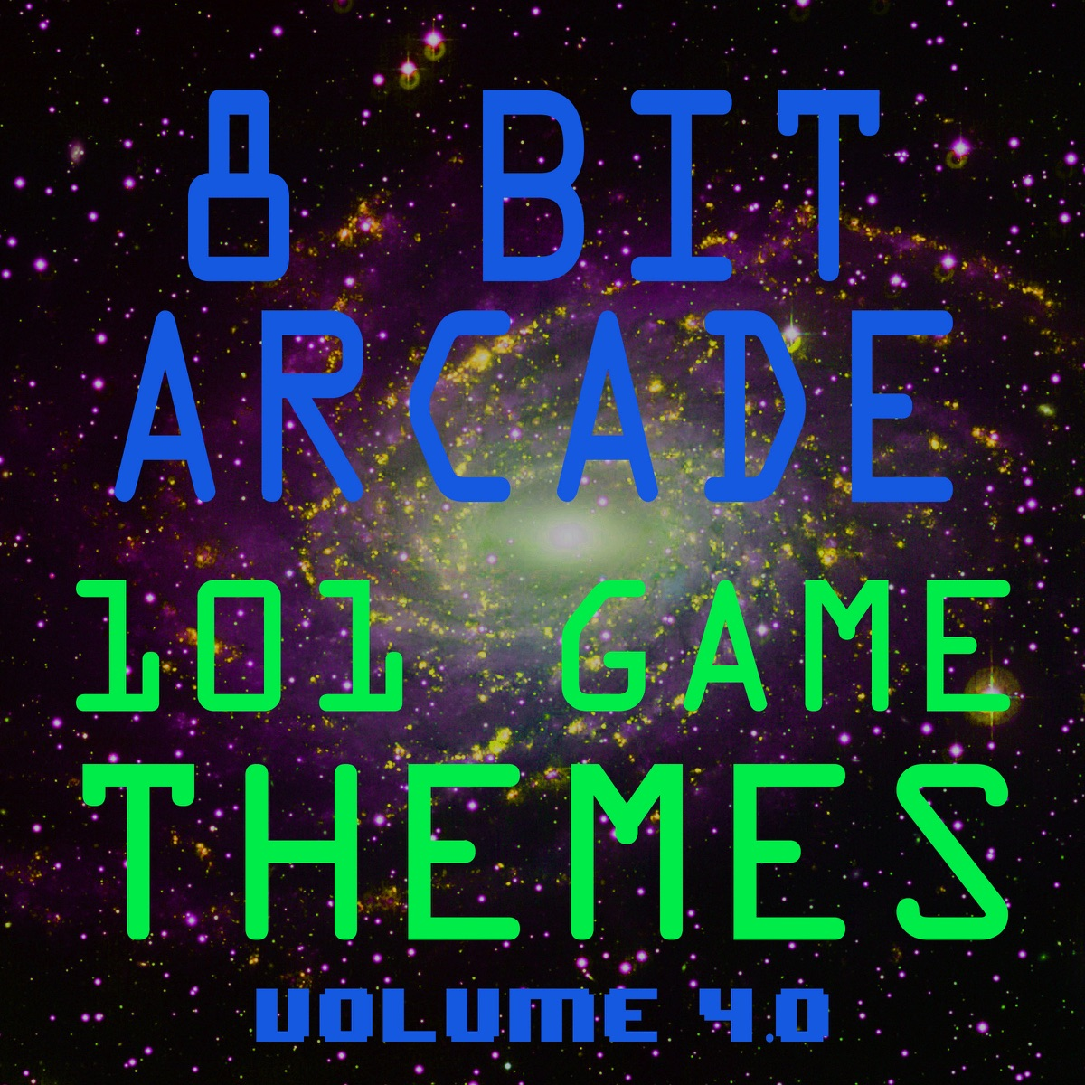 101 Game Themes Vol 40 8-Bit Arcade CD cover