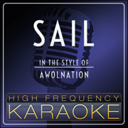 Sail (Instrumental Version) - High Frequency Karaoke - High Frequency Karaoke