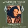 A la Unesco, Montserrat Caballé