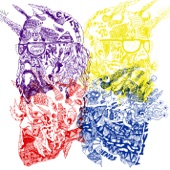 Purple Yellow Red and Blue - Single