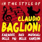 Basi Karaoke delle più belle canzoni in the style of Claudio Baglioni