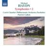 M. Haydn: Symphonies, Vol. 2 - Filip Dvořák, Czech Chamber Philharmonic Orchestra Pardubice & Patrick Gallois