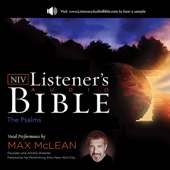 Listener's Audio Bible - New International Version, NIV: Psalms: Vocal Performance by Max McLean (Unabridged)